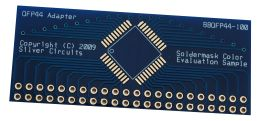 PCB with Blue Soldermask
