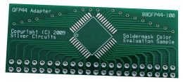 PCB with Green Soldermask